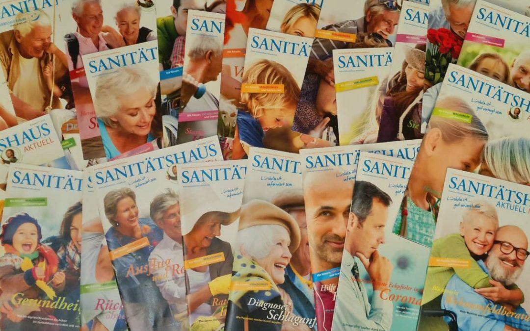 SANITÄTSHAUS AKTUELL Magazin #24 erschienen